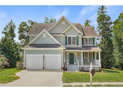Chesterfield County Single Family Home For Sale: 7814 Hampton Green Drive
