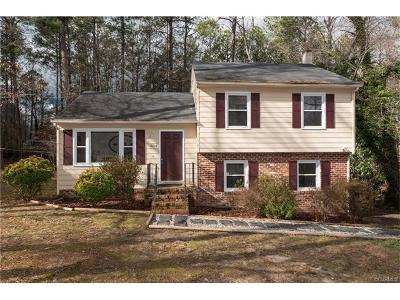 Midlothian Single Family Home For Sale: 2812 Brookforest Road