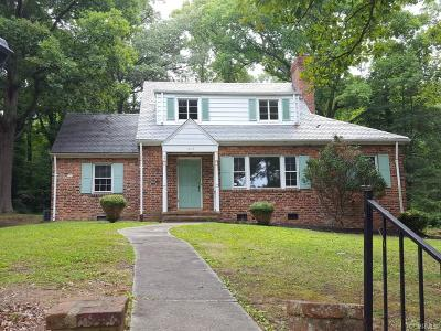 Richmond Single Family Home For Sale: 1417 Westover Gardens Boulevard