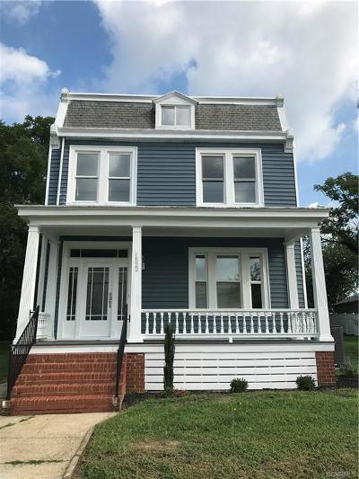 Richmond VA Single Family Home Sold: $200,000