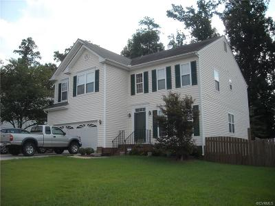 Chesterfield County Single Family Home For Sale: 3191 Poplar View Place