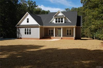 Powhatan County Single Family Home For Sale: 1450 Palmore Road