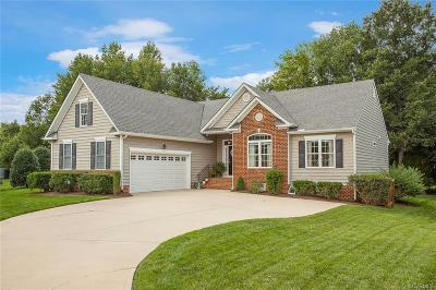 Chesterfield Single Family Home For Sale: 9166 Stonecreek Club Place