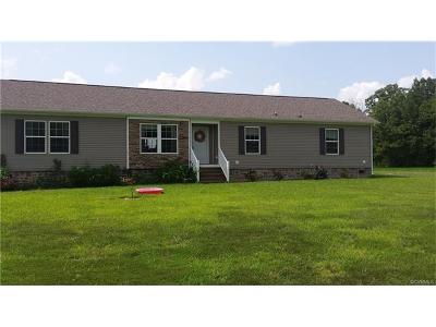 Hanover Single Family Home For Sale: 31342 Edgar Road