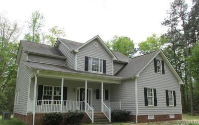 King William County Single Family Home For Sale: 25 Mallard Creek Lane