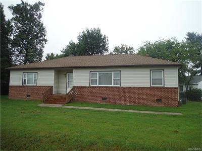 Hopewell Single Family Home For Sale: 1112 Smithfield Avenue