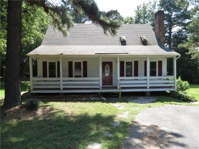 Chesterfield VA Single Family Home Sold: $155,000