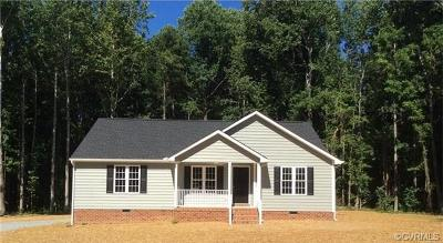 Aylett Single Family Home For Sale: West West River Road