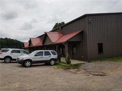 Dinwiddie Commercial For Sale: 2407 Cox Road