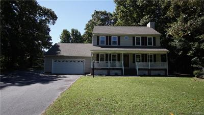 Prince George VA Single Family Home For Sale: $204,900
