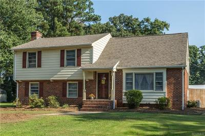 Sandston VA Single Family Home For Sale: $198,950