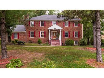 Chester VA Single Family Home For Sale: $424,000