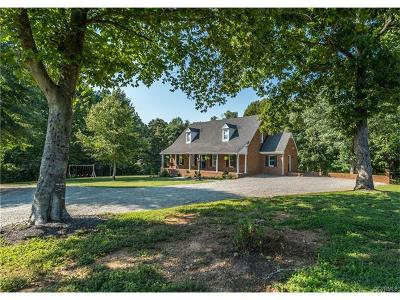 Amelia VA Single Family Home For Sale: $549,000