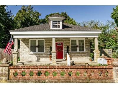 Petersburg VA Single Family Home For Sale: $105,000