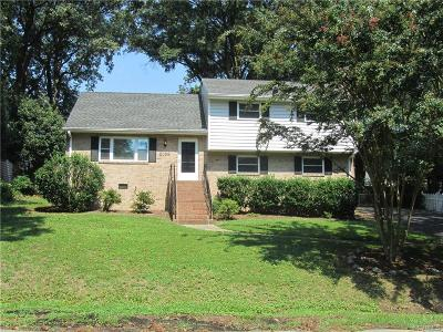 Henrico Rental For Rent: 8008 Costin Drive