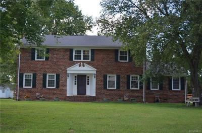 Mechanicsville VA Single Family Home For Sale: $289,900