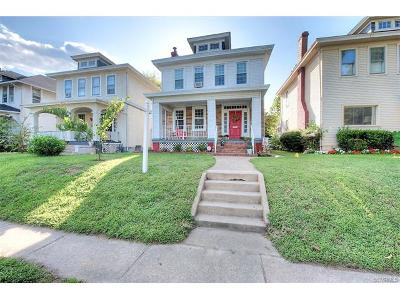 Richmond Single Family Home For Sale: 2412 Barton Avenue
