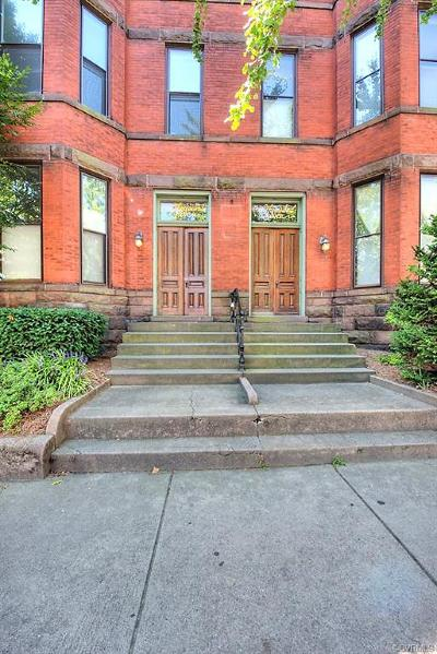 Richmond Condo/Townhouse For Sale: 1005 West Franklin Street #5