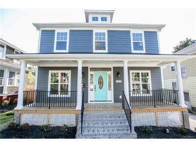 Richmond Single Family Home For Sale: 2909 Noble Avenue