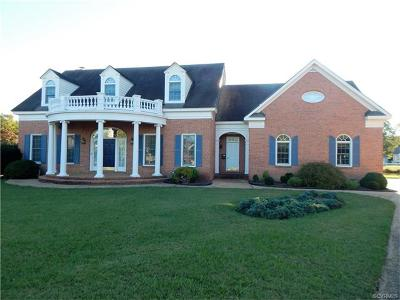 North Prince George VA Single Family Home For Sale: $495,000