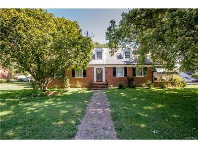 Petersburg Single Family Home For Sale: 1771 Monticello Street