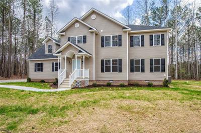 Swift Creek Estates Single Family Home Sold: 17430 Simmons Branch Terrace