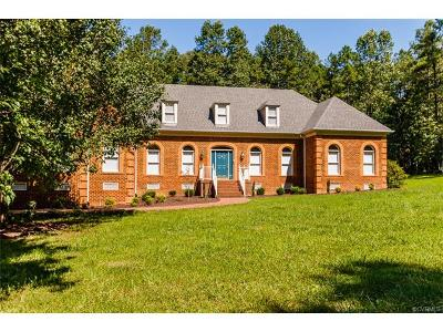 Hanover County Single Family Home For Sale: 15475 Pine Green Lane