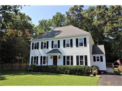Mechanicsville VA Single Family Home For Sale: $279,950