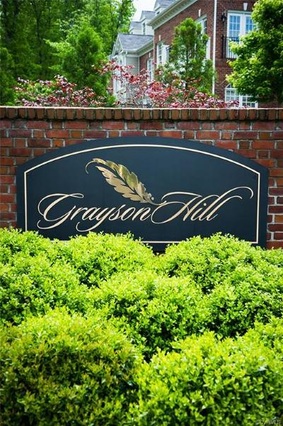 Henrico Condo/Townhouse For Sale: 1107 Marney Court #RR-4