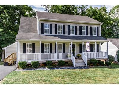 Chesterfield VA Single Family Home For Sale: $212,000