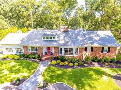 Henrico Single Family Home For Sale: 8910 River Road