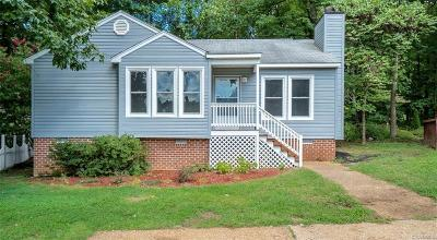 Chesterfield VA Single Family Home For Sale: $162,000