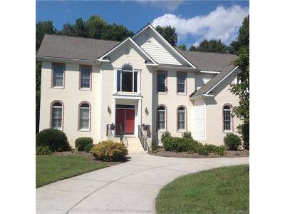 Chesterfield VA Single Family Home For Sale: $449,900