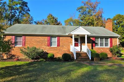Chesterfield County Single Family Home For Sale: 5322 Meadoway Road