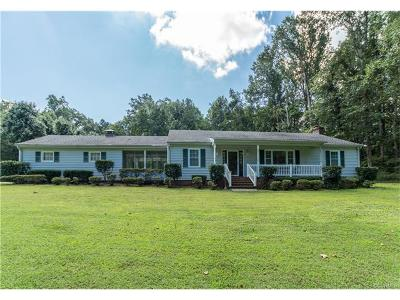 Mechanicsville Single Family Home For Sale: 4279 Spring Run Road