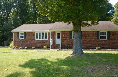 Midlothian Single Family Home For Sale: 1218 Courthouse Road