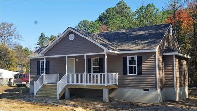South Chesterfield Single Family Home For Sale: 21219 Matoaca Road