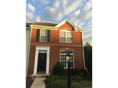 Glen Allen Condo/Townhouse For Sale: 11509 Friars Walk Terrace #11509