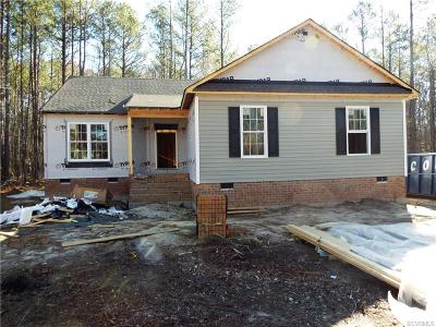 South Chesterfield Single Family Home For Sale: 21301 Matoaca