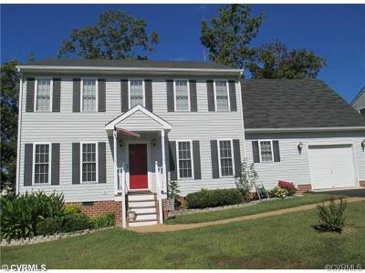 Chesterfield VA Single Family Home For Sale: $245,000