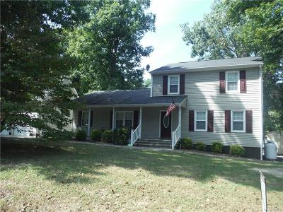 Prince George VA Single Family Home For Sale: $220,000