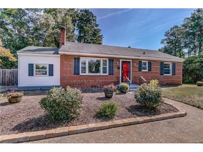Richmond Single Family Home For Sale: 1601 Leicester Road