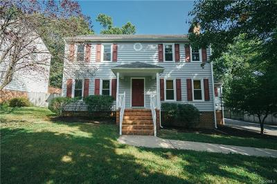 Chesterfield VA Single Family Home For Sale: $204,950