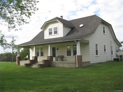 Blackstone Single Family Home For Sale: 1483 Walnut Hill Road