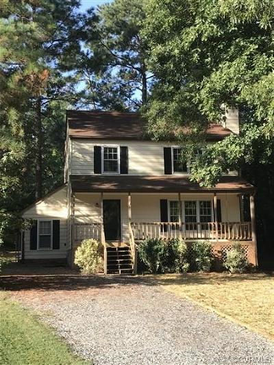 Chesterfield VA Single Family Home For Sale: $180,000