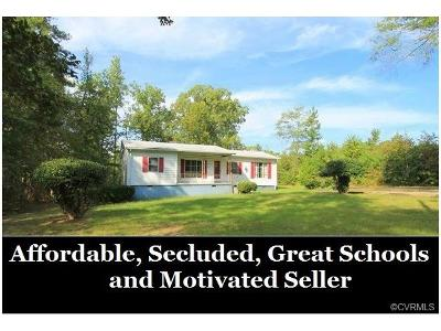 Chesterfield Single Family Home For Sale: 18200 River Road