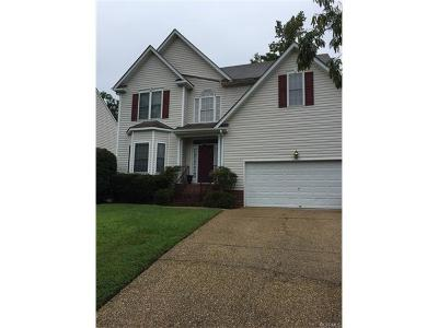Henrico Rental For Rent: 10408 Flat Branch Drive