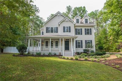 Powhatan County Single Family Home For Sale: 3925 Mill Station Drive