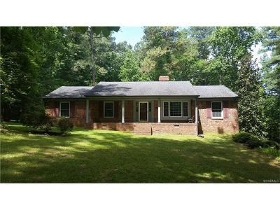 Single Family Home For Sale: 5400 Tall Pine Road