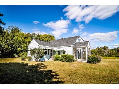 King William Single Family Home For Sale: 701 East Spring Forest Road
